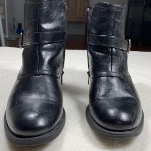 Kim Rodgers Black Zip Up Boot Size 8 1/2